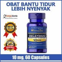 Puritan,s pride Melatonin 10 mg isi 60 capsule Obat tidur