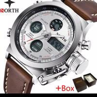 【COD】NORTH Jam Tangan Pria 100% Original 6022 Jam tangan