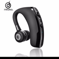 V9 Earphone Wireless Bluetooth Stereo Model Gantung