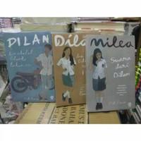 PAKET 3 NOVEL - DILAN 1990 - DILAN 1991 - MILEA