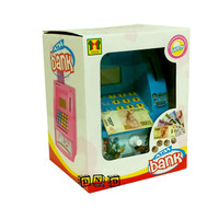 Mainan Edukasi - Celengan ATM Happy Bank Tobot Biru Bahasa Indonesia
