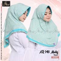Hijab Instan Motif Serut Ar Rafi Bahan Berkualitas AR148 Motif Tosca