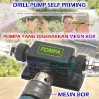 Pompa Air Bor Drill Water Pump Cairan Minyak Self Priming Mobil Kolam