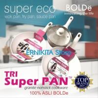 BIG PROMO SUPER PAN BOLDe PANCI GRANITE CERAMIC COOKWARE SET FREE BU