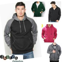 Sweater Polos Hoodie Pria Bahan Berkualitas