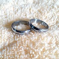 cincin pria wanita titanium xk23