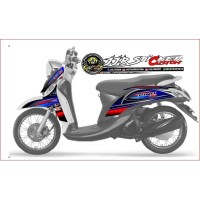 Striping Decal Yamaha Fino