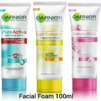 Garnier Foam 100 Ml Pure Active, Light Complete, Sakura White