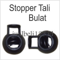 Stopper Tali Bulat isi 10pcs per bungkus Cord Lock