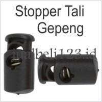 Stopper Tali Gepeng isi 10 pcs per bungkus Cord Lock