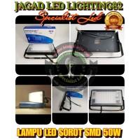 LAMPU SOROT 50W CHIP LED SMD LAMPU TEMBAK FLOODLIGHT HINOMARU Limited