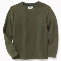 OLD NAVY FRENCH-RIB VNECK SWEATER/SWEATER ANAK BRANDED OLDNAVY-GREEN