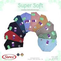 Celana Dalam Wanita CD Super Lembut Terbaru Sorex 1257 size QL