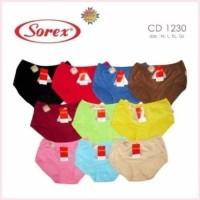 Sorex 1230 Ukuran EL - QL | Celana Dalam / CD Midi Polos