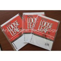 Loose Leaf A5 Kenko 50 Lembar Kertas File Refill Isi Binder Paperline