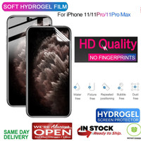 iPhone 11 Pro Max / 11 / 11 Pro Hydrogel Front Protector ( Antigores )