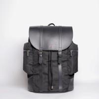 Tas Ransel Punggung Laptop Rucksack - TFG Backpack Napoleon 424 Black