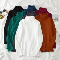 Sweater Halterneck Turtle neck korea bts / fashion baju hangat wanita