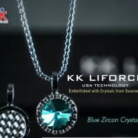 KK Liforce Blue Zircon Crystal