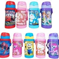 Botol Minum Anak/Botol Minum Sedotan/Botol minum Karakter/Tali Panjang