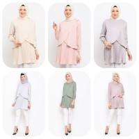 Baju Atasan Muslim Wanita Le Najwa Lika Tunik