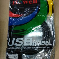 Kabel usb to mini usb 5pin howell/ cable data usb to 5 pin .3 meter