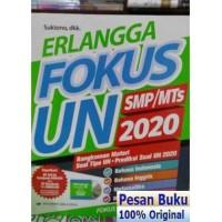 Buku Erlangga FOKUS UN SMP 2020 Rangkuman Materi Soal Tipe UN