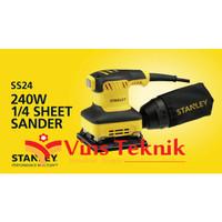 Mesin Amplas Kotak SS24 Stanley 1/4 Sheet Sander 240watt SS 24