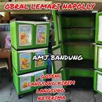 OBRAL Lemari Plastik Napolly winne The Pooh Batman MURAH Bandung