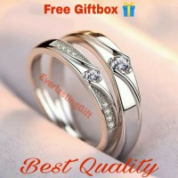 Cincin Couple Perak, Cincin Sepasang Kualitas Terbaik