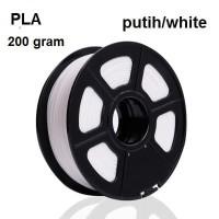 Filament Filamen Bahan Cetak Printer 3D PLA Warna putih white