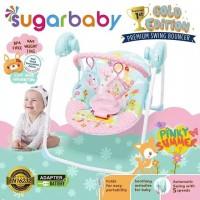 Sugar Baby Gold Edition Premium Swing Bouncer Ayunan Bayi Ayunan Anak