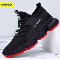 Ambigo EVP JKT32 Sepatu Running Lari Sneakers Kets Olahraga Pria