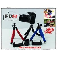 Mini Tripod Spider Flexibel Gorilapod Vlog Kamera Sportcam Smartphone.