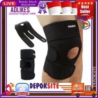 Ori Aolikes 3 Strap Adjustable Pelindung Lutut Knee Patella Knee Pad