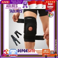 AOLIKES Knee Pad 7907 Knee Support Penyangga Lutut With Strap High Qty