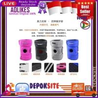 Aolikes 4 Spring Adjustable Sports Leg Knee Patella Support Knee Pad