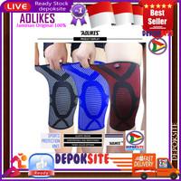 1 Pcs Aolikes 7716 Knee Protector Knee Pad Knee Support Deker Lutut