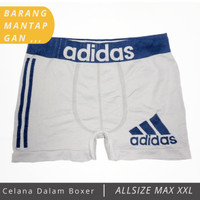 Good Quality Boxer Celana Dalam Underwar Logo Adidas
