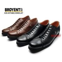 Sepatu Pria Semi Formal Tali Kulit Sapi Asli 535