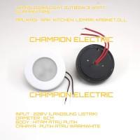 Lampu Downlight Outbow Tempel Slim Tipis 3Watt 3 Watt 3W Rak Lemari