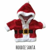 baju kostum jaket hoodie santa natal christmas impor anak bayi newborn