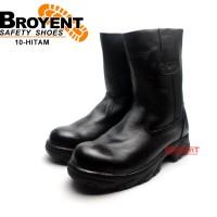 Sepatu Safety Boots Pria Kulit Asli 10