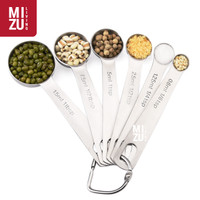 MISURARE 6in1 SET Measuring Spoons Sendok Takar Ukur Stainless Steel