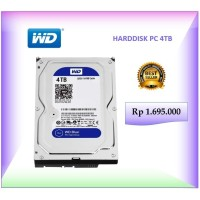 HARDDISK PC WD BLUE 4TB | HARDDISK PC INTERNAL | DENPASAR BALI