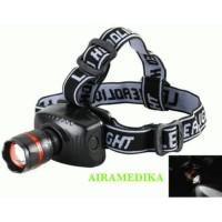 Senter Kepala Led Zoom - Headlamp Zoom Autofokus - High Power zoom Hea