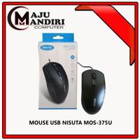 MOUSE USB NISUTA MOS-375U