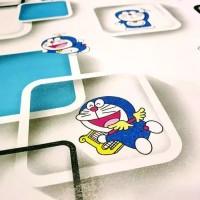 Wallpaper Dinding Sticker Karakter Doraemon 3D 45 CM X 10M