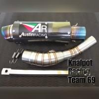 slip on Cbr 150R facelift knalpot Austin racing knalpot CBR 150 R
