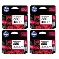 TINTA PRINTER / CATRIDGE HP 680 BLACK / COLOR ORIGINAL 100⎕